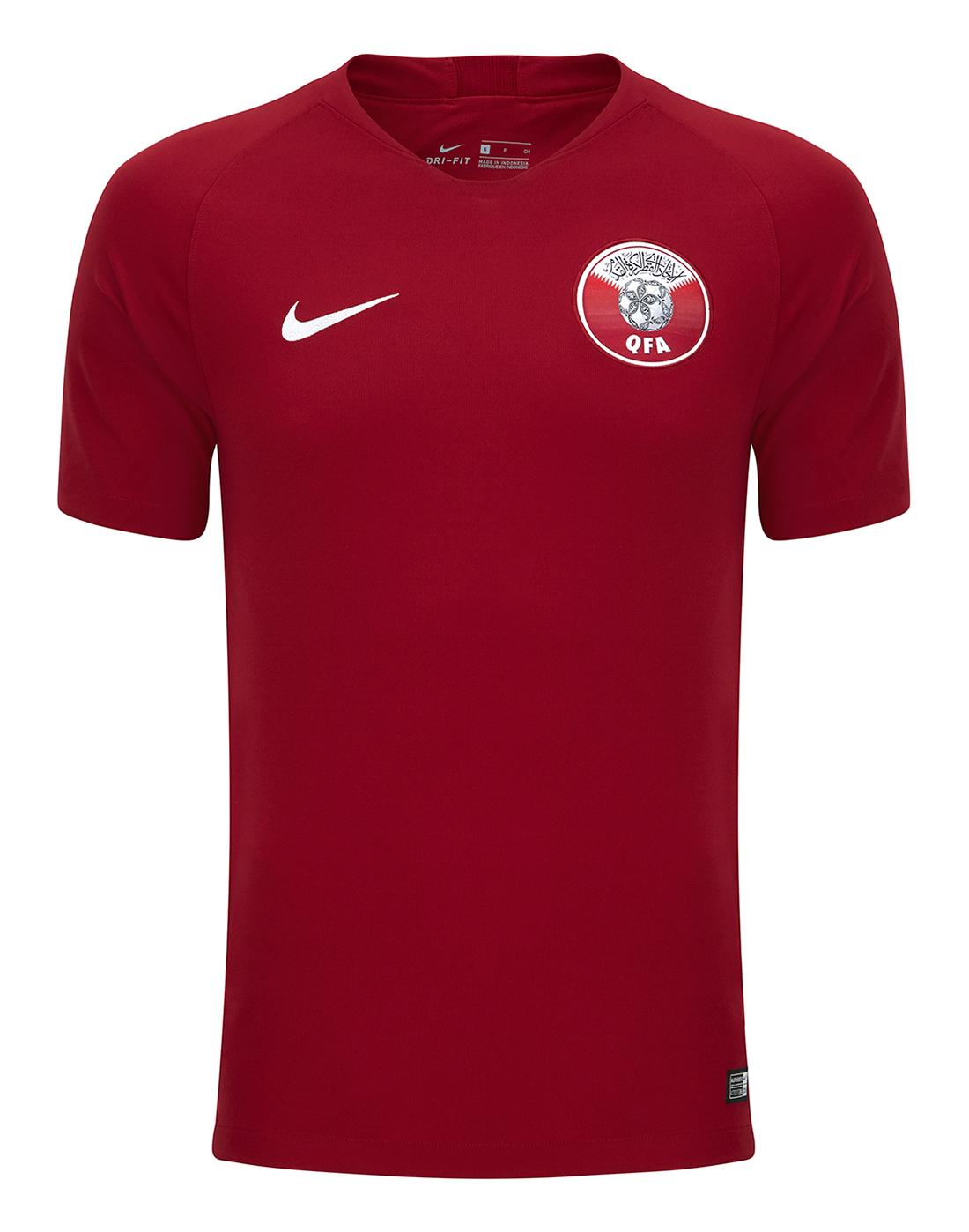 5d3b0d5fafb Nike Adult Qatar Home 18 19 Jersey