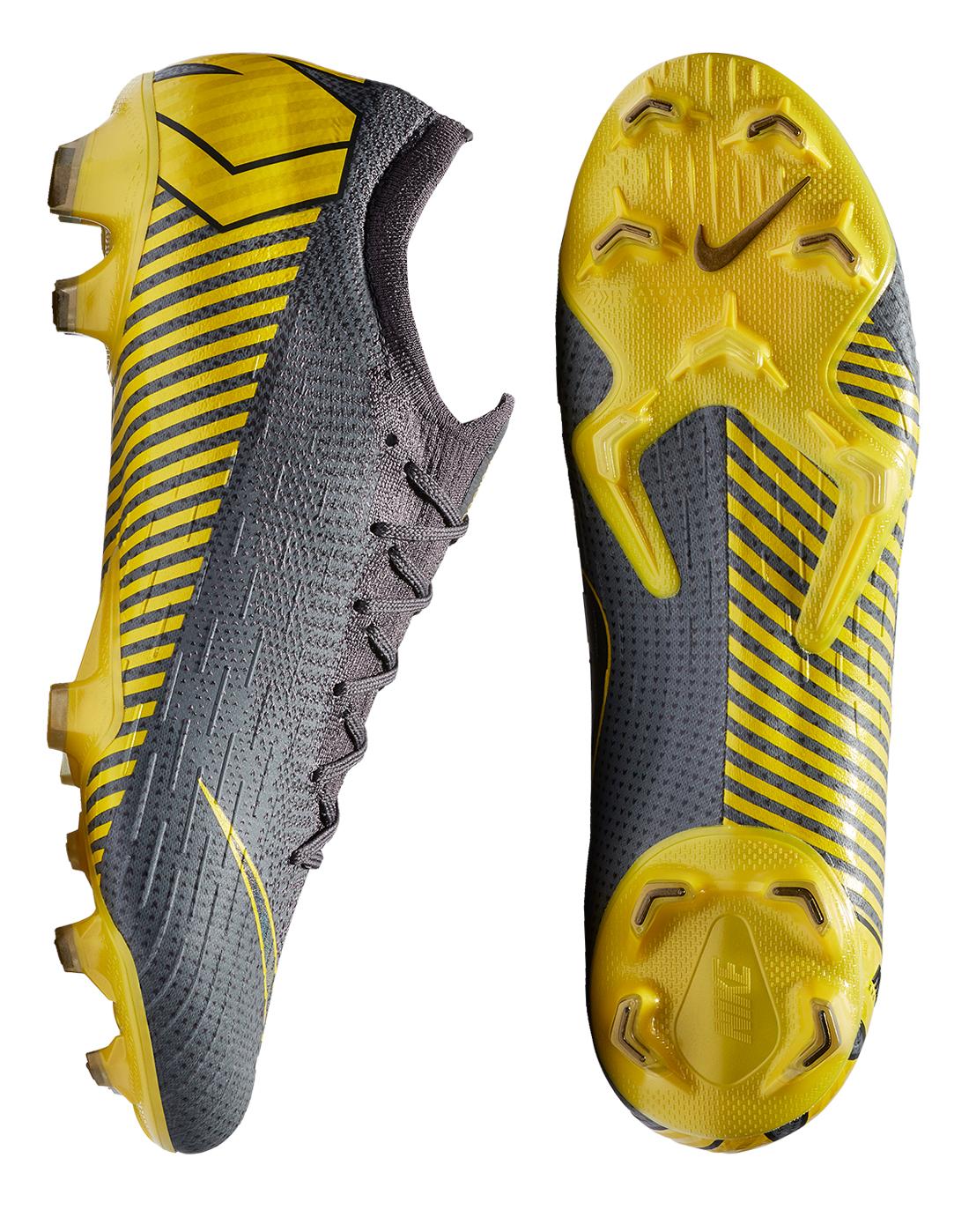 4da1023ac Grey   Yellow Nike Mercurial Vapor Elite