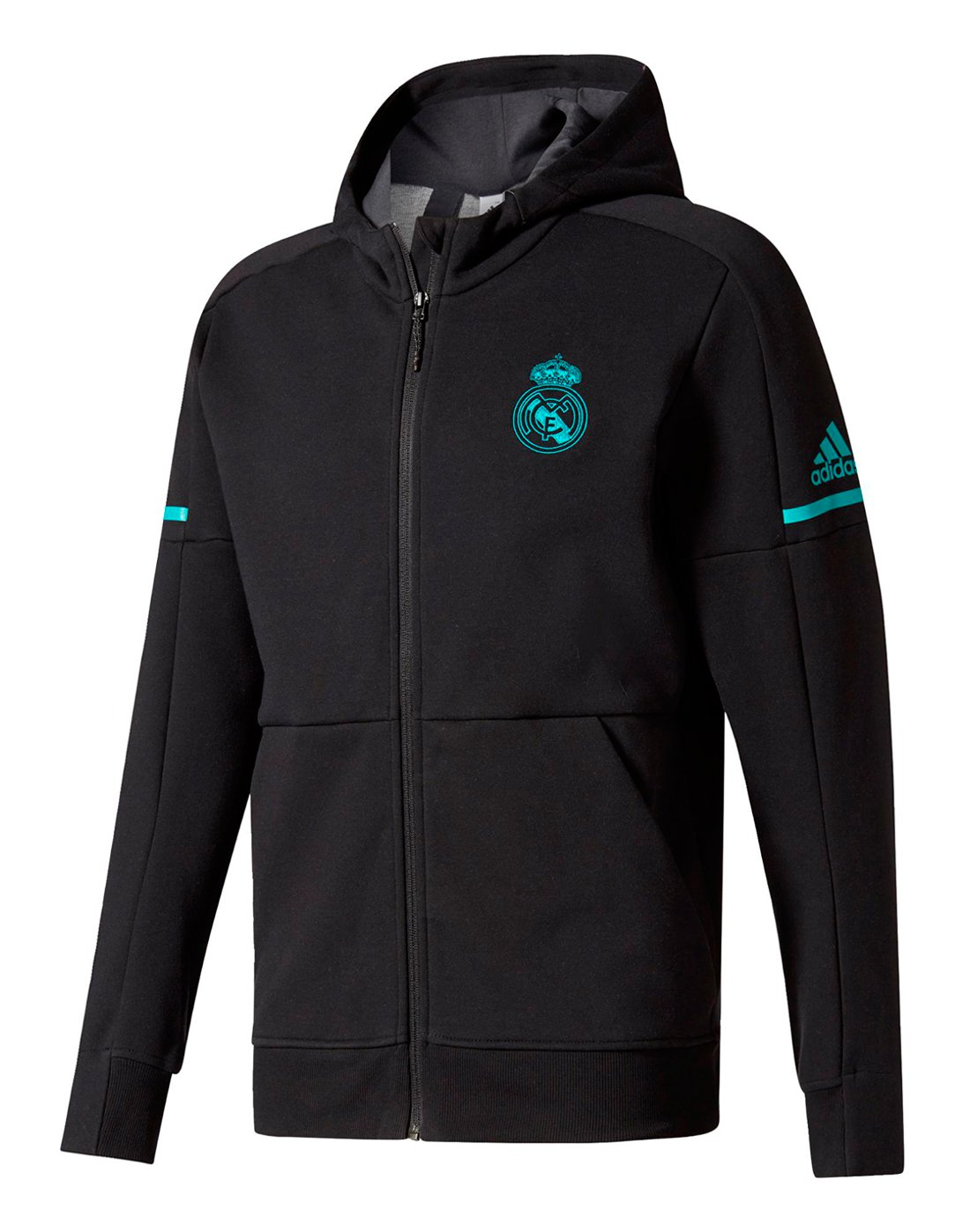 4429b04d66a2 adidas Mens Real Madrid Anthem Squad Jacket