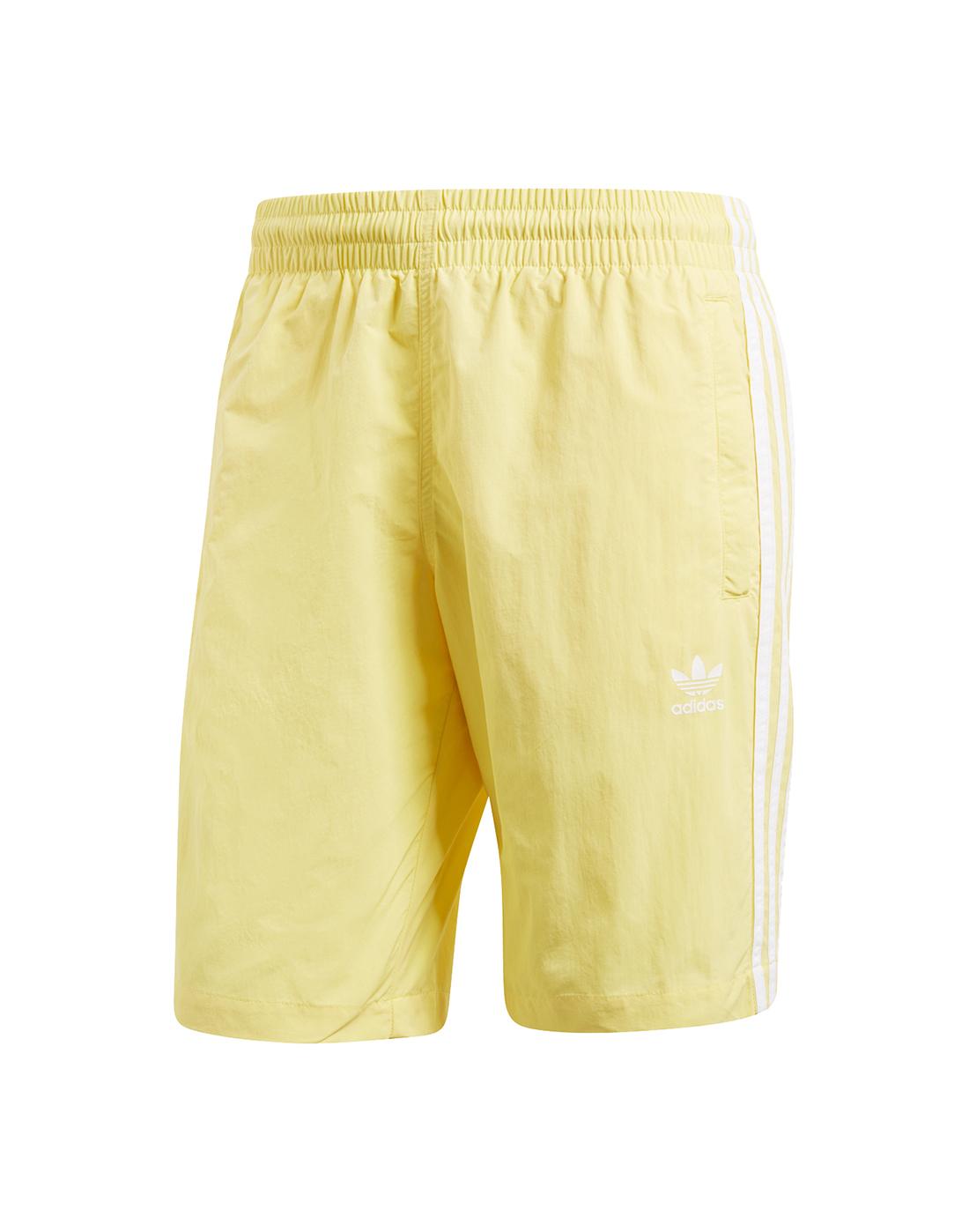 e932391ed8 Men's adidas Originals Yellow Swim Shorts | Life Style Sports