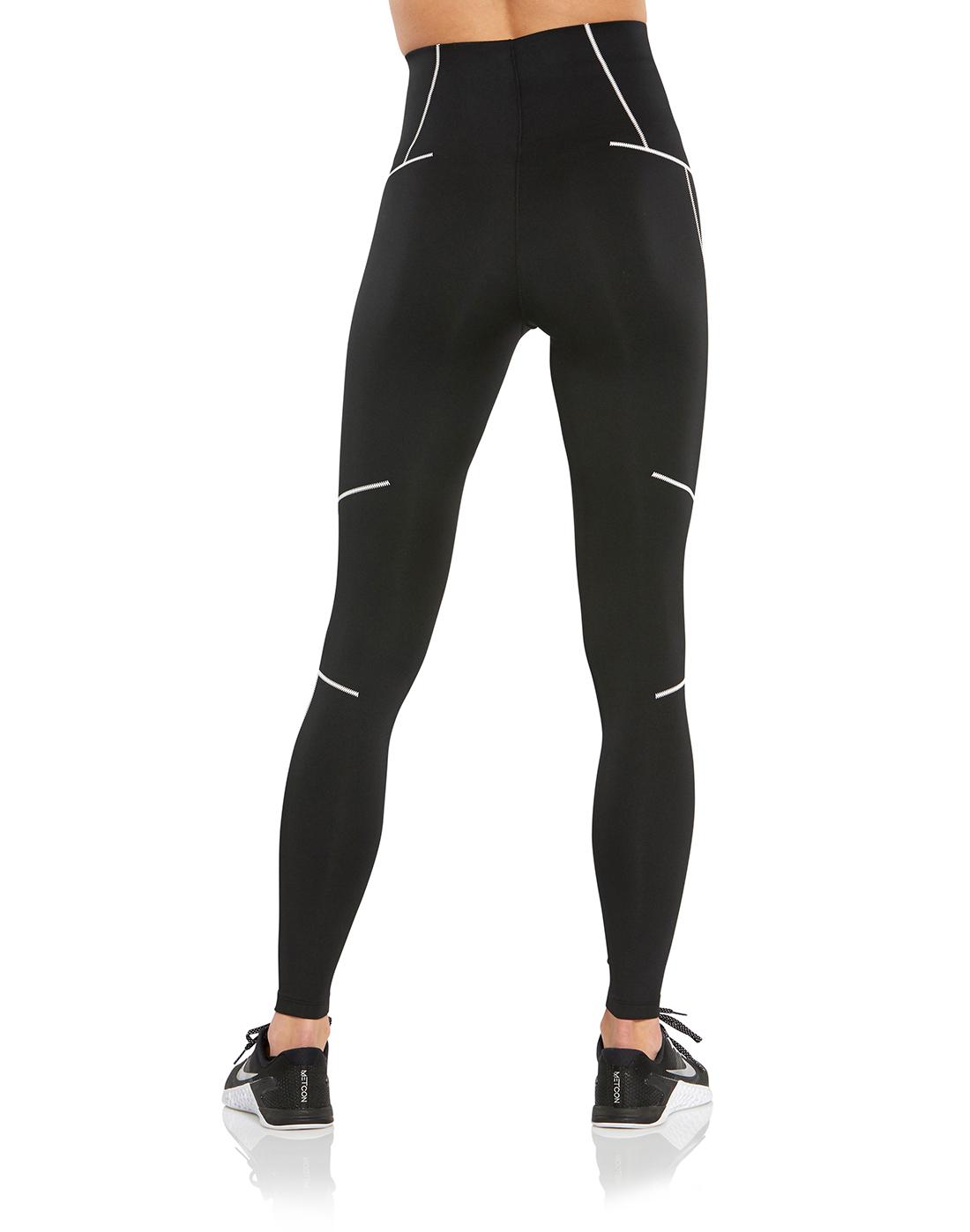 Women's Black Nike Zig Zag Tights