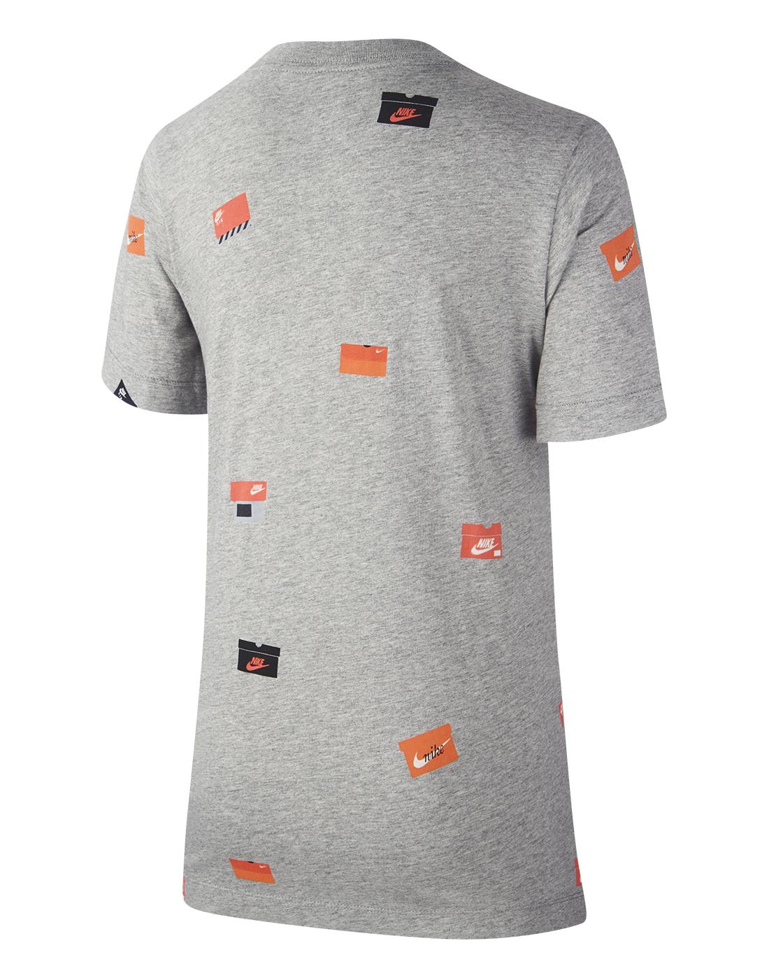 46deed2f5 Nike Older Boys Shoe Box Print T-Shirt | Life Style Sports