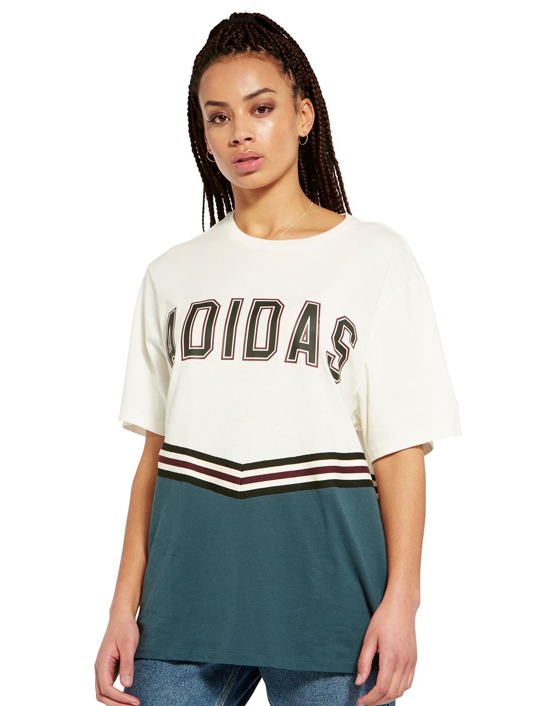 e462a56d314 adidas Originals Womens Adibreak SS T-Shirt | Life Style Sports