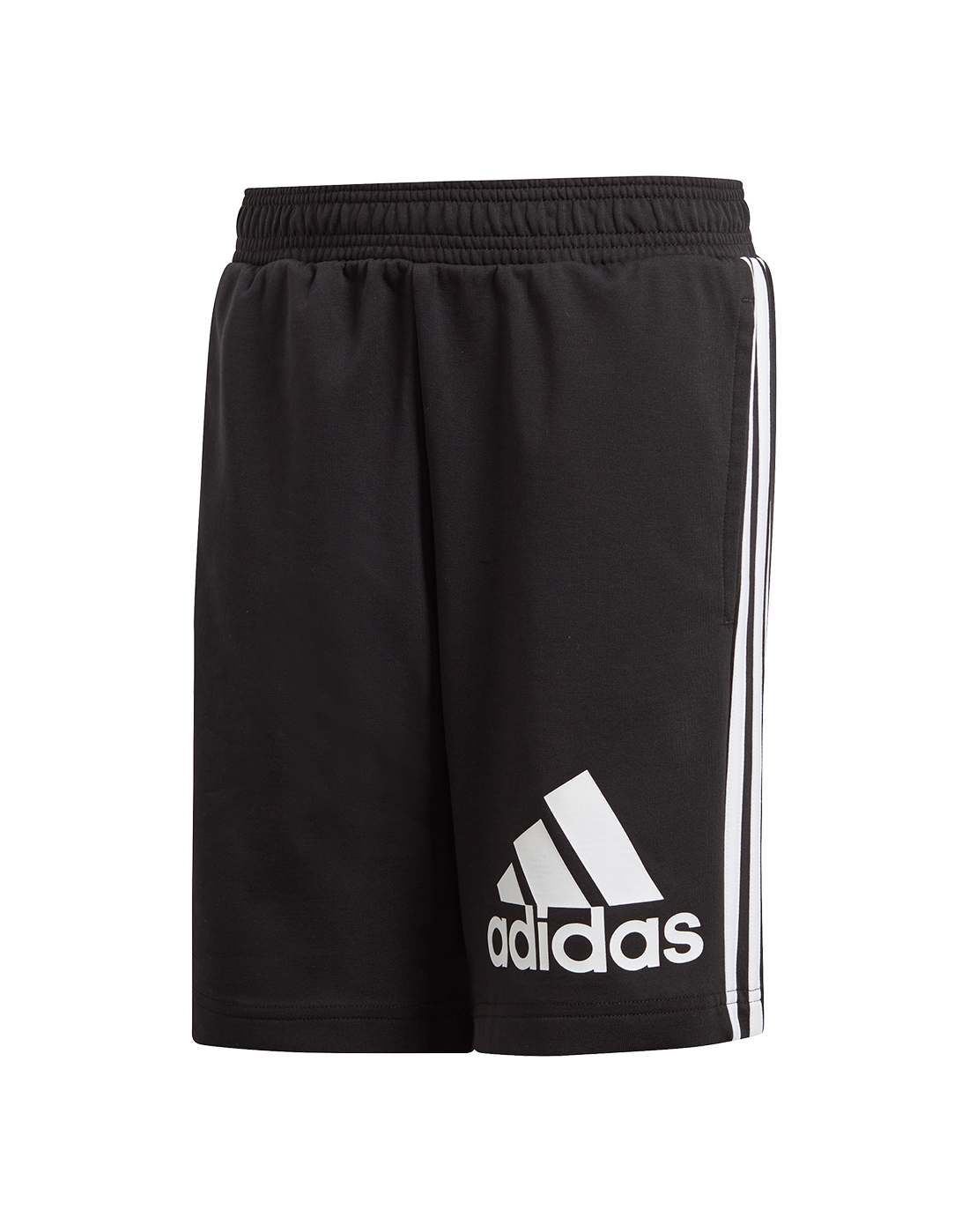 6d6f5f606632b8 Boy s Black adidas Logo Shorts