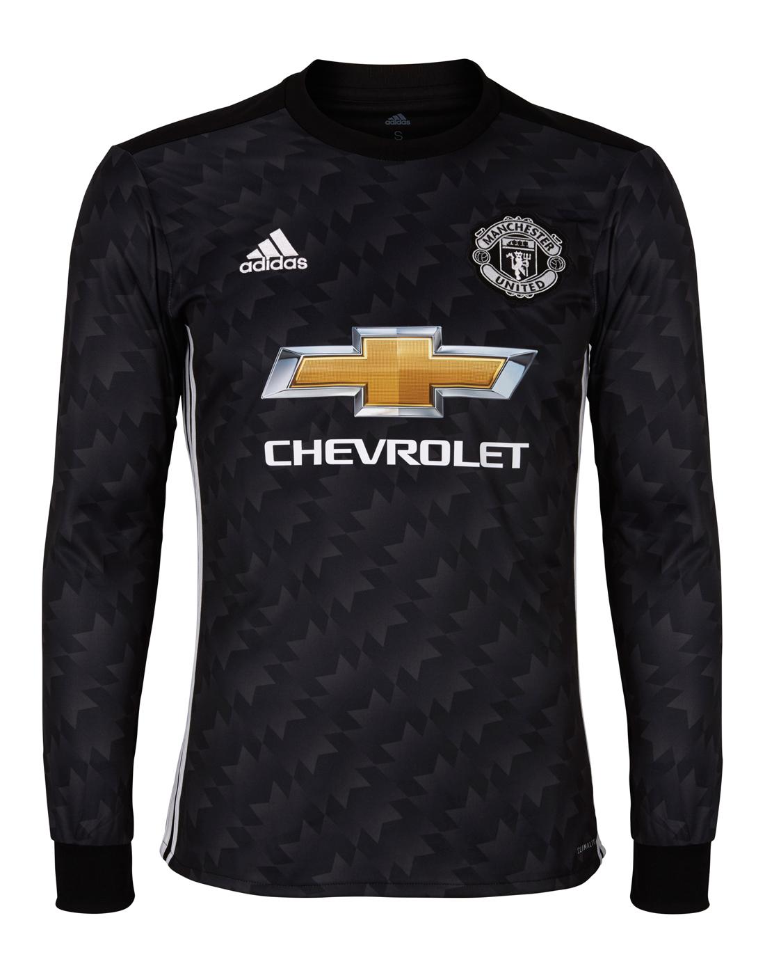 d7b2384af9e adidas Adult Man Utd 17 18 Away Jersey LS