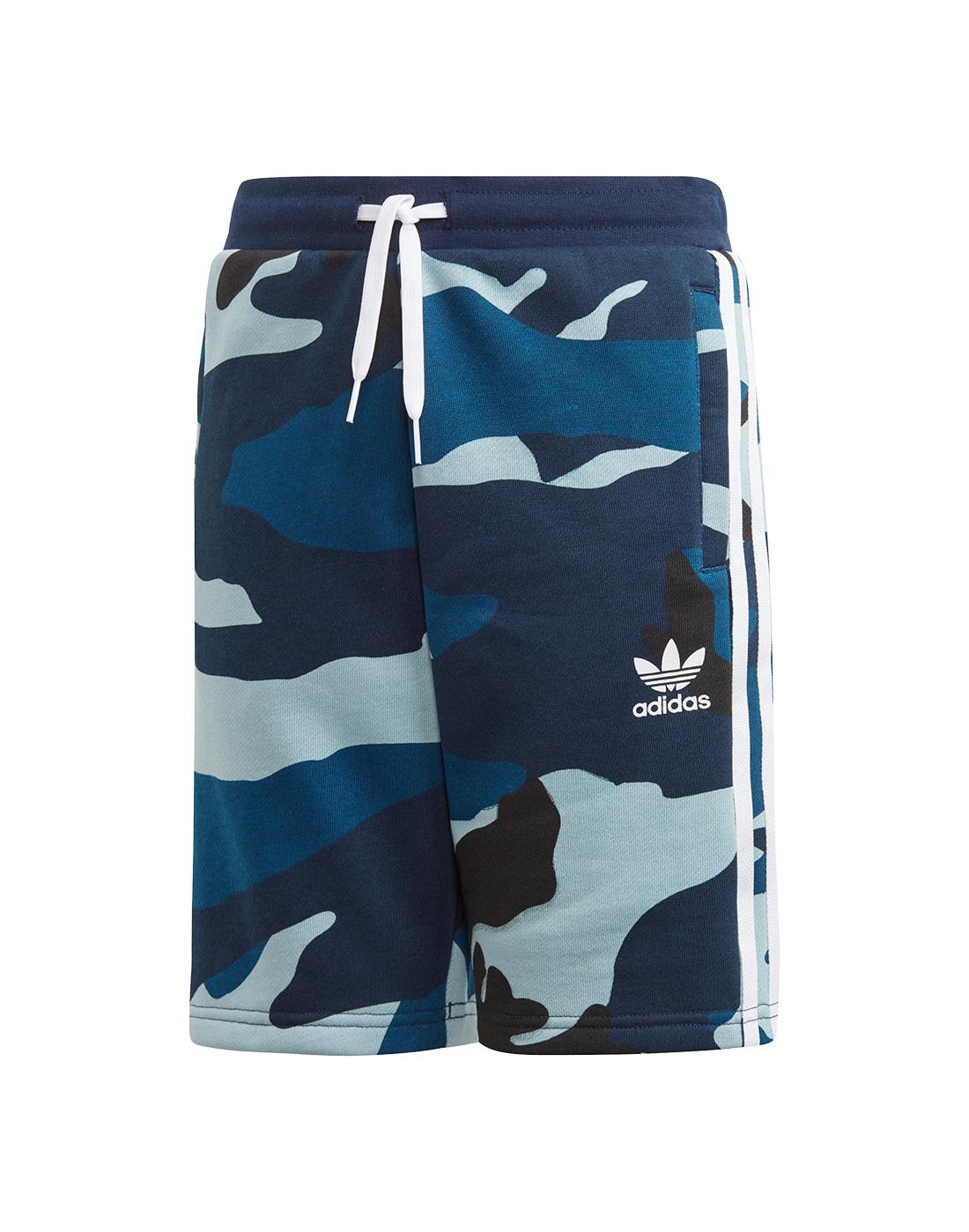 f2d2393362c9c adidas Originals Older Boys Camo Shorts | Life Style Sports