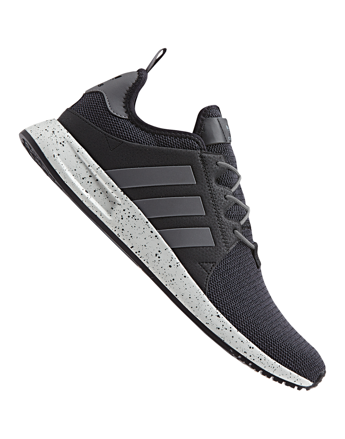 Adidas Originals X PLR Knit Trainer Dark Grey Black