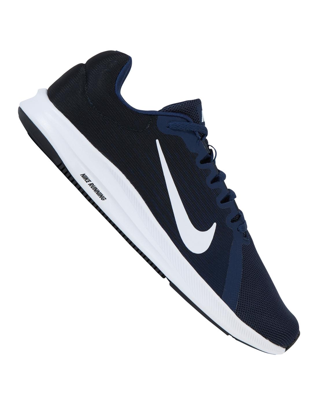 Nike Mens Downshifter 8   Navy   Life