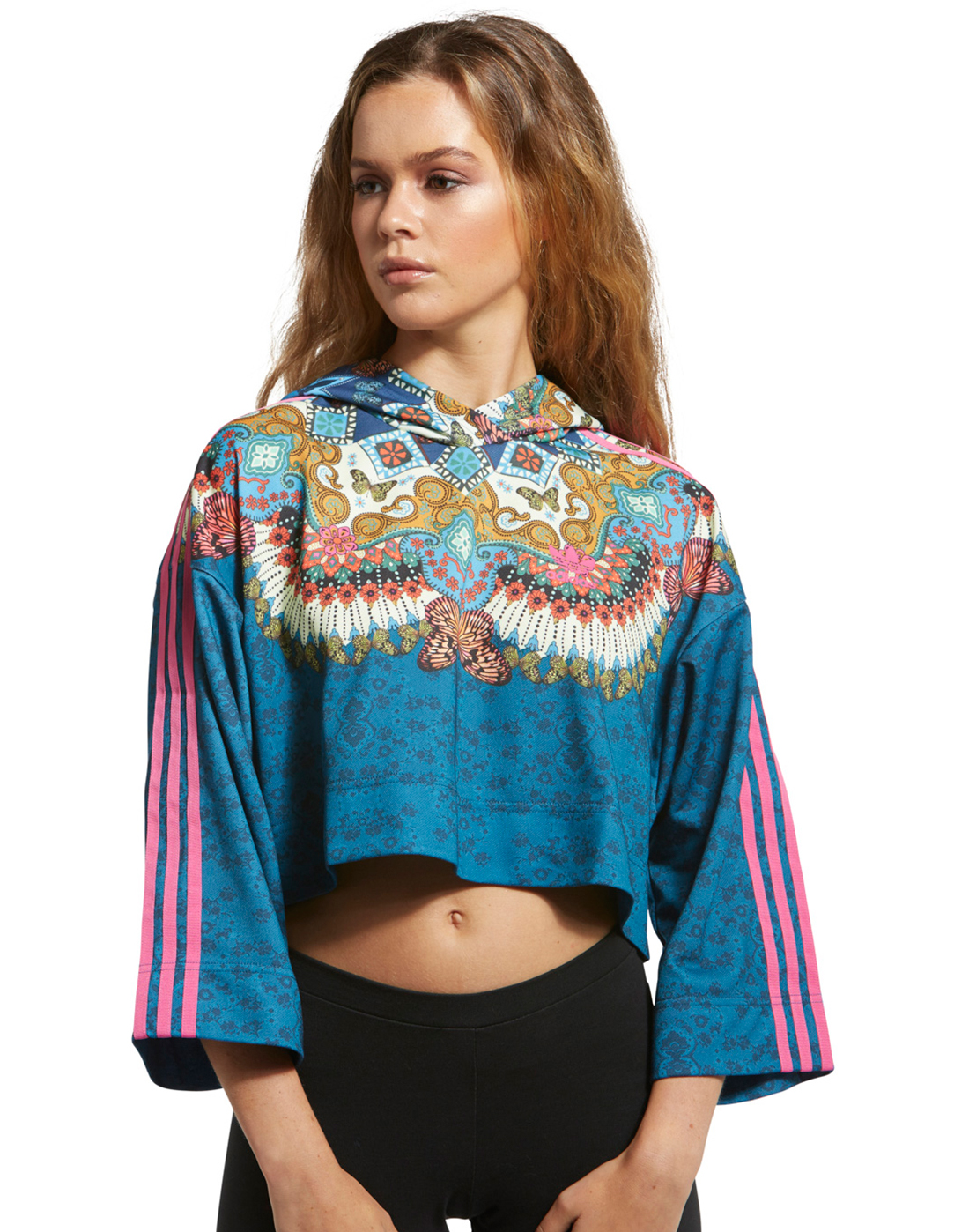 fe179bc3784 adidas Originals Womens Borbomix Hoodie | Life Style Sports