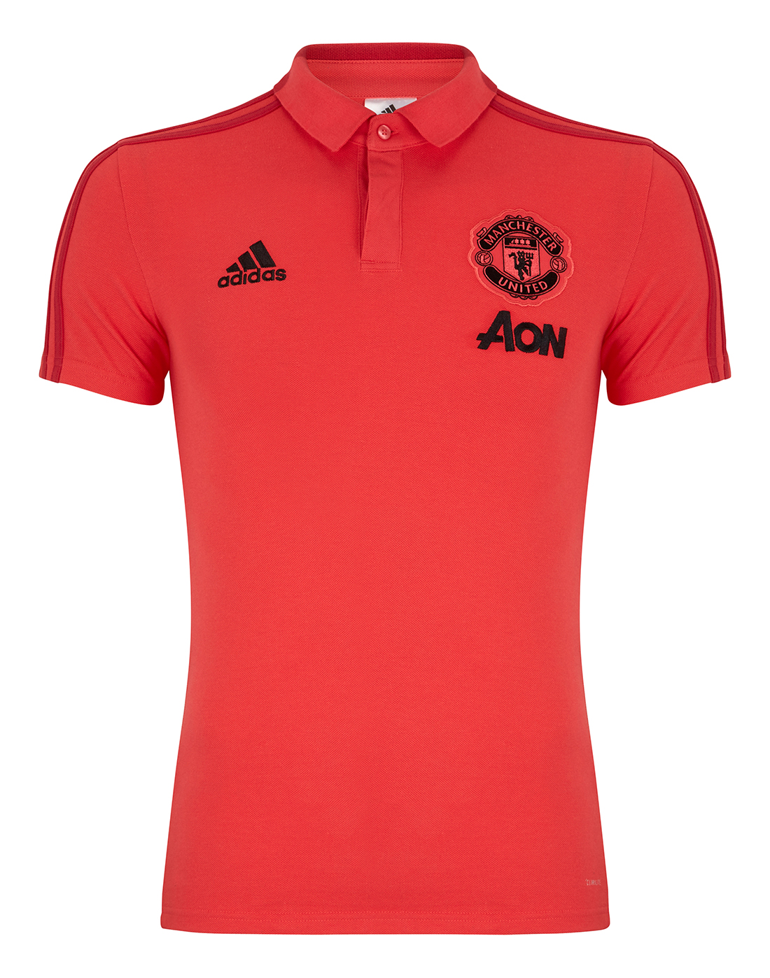 Man United Red Polo Shirt Adidas Life Style Sports