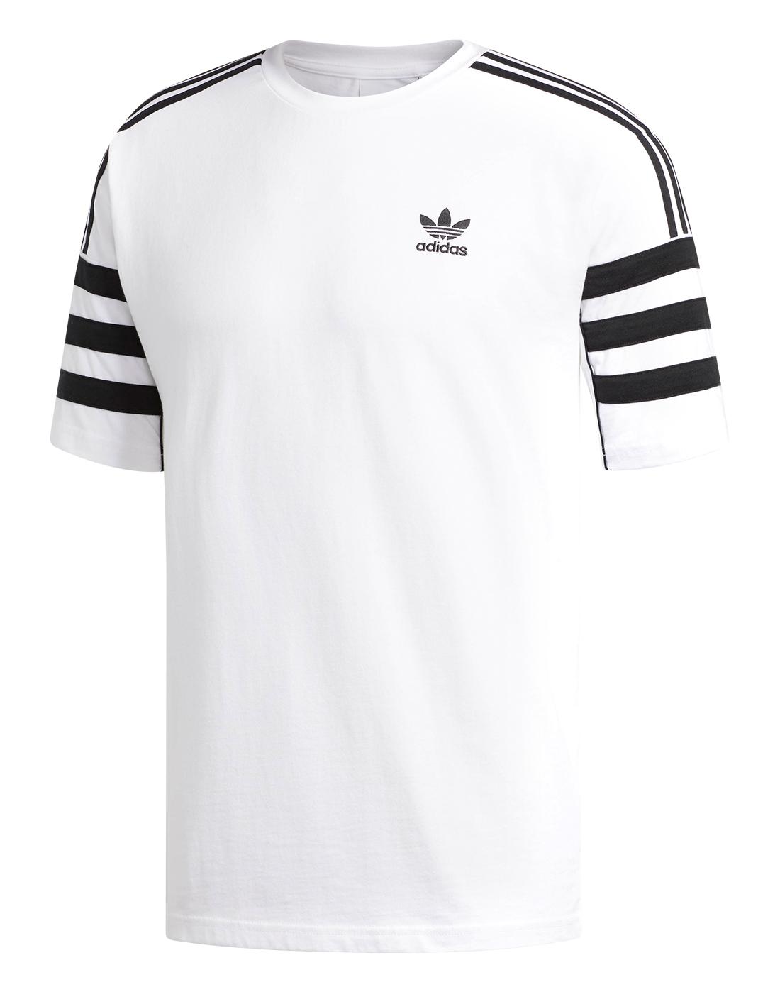 8d535705f adidas Originals Mens Authentic T-Shirt | Life Style Sports