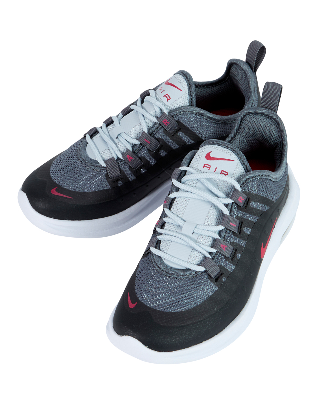 young girls nike air max axis black life style sports. Black Bedroom Furniture Sets. Home Design Ideas