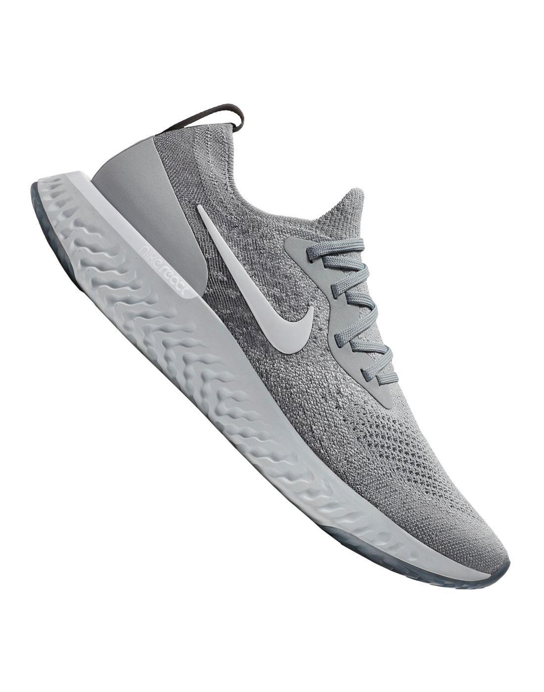 992df9a932b6 Men s Grey Nike Epic React Flyknit