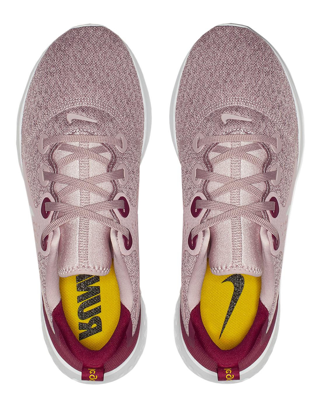 06f8582e01a62 Women s Pink   Red Nike Legend React