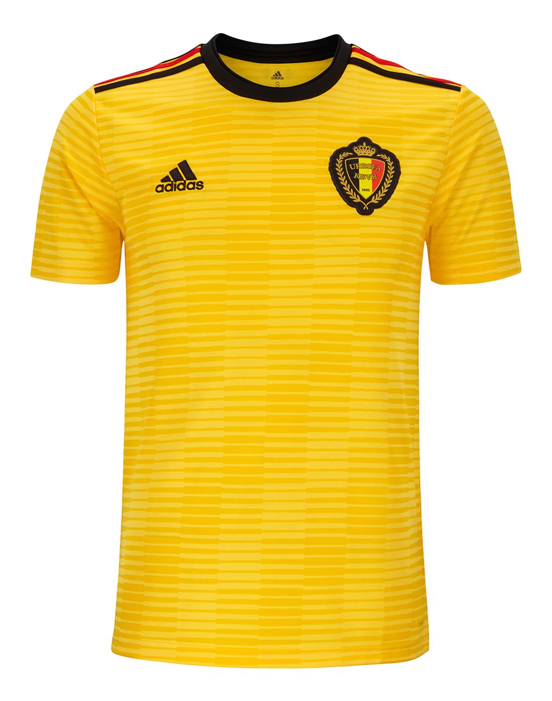89256eaa9 Adult Belgium WC18 Away Jersey ...