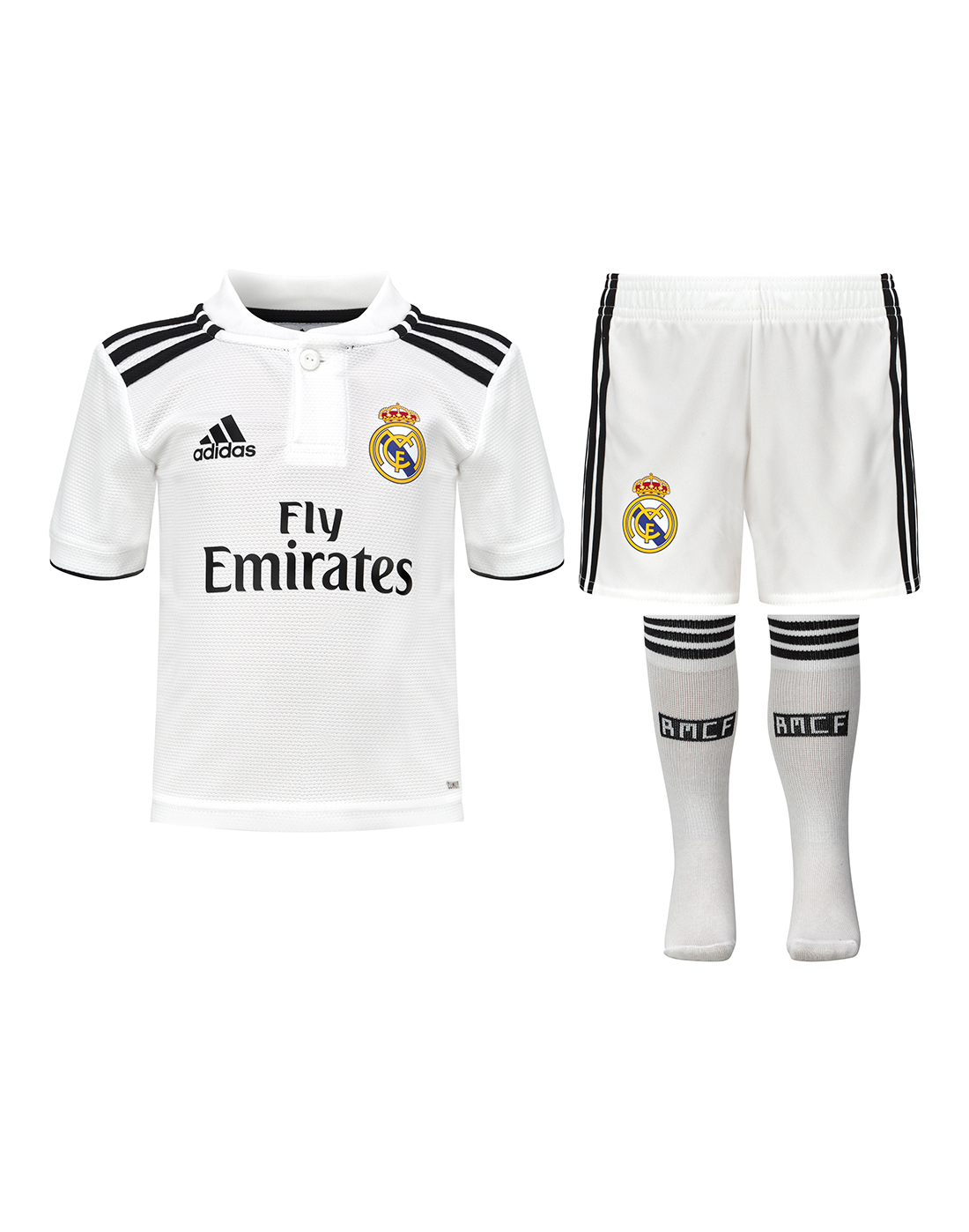 a2ec37631 Kids Real Madrid 18 19 Home Kit ...
