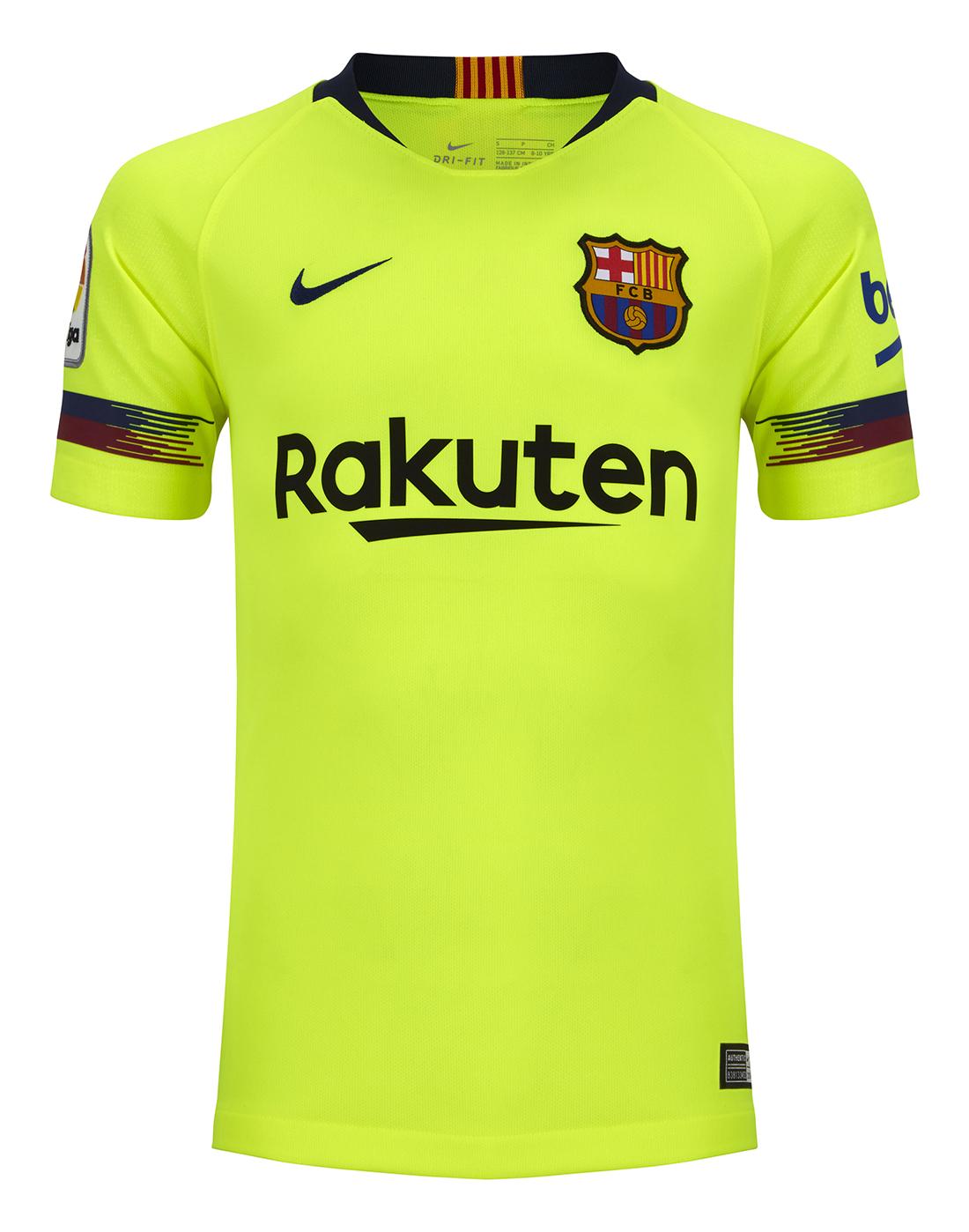 Kids Barcelona Away 18 19 Jersey ... 279b2b120cb