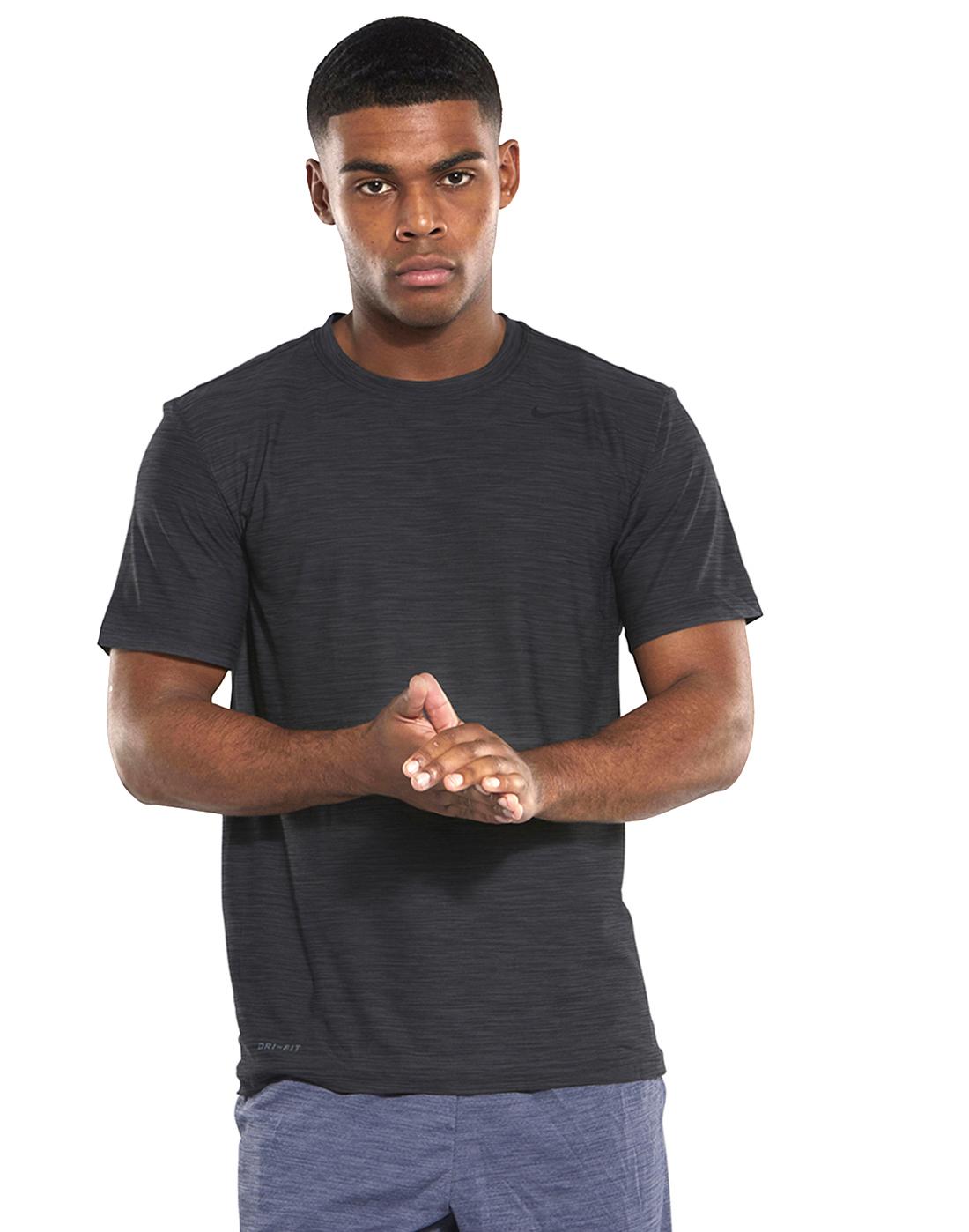 3acb049b Men's Black Nike Dry Gym T-Shirt | Life Style Sports