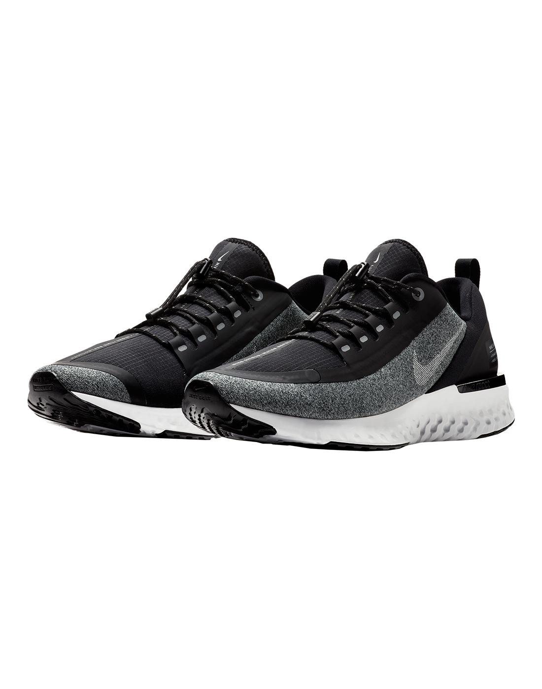 41f5a5360b807 Men s Black Nike Odyssey React Shield
