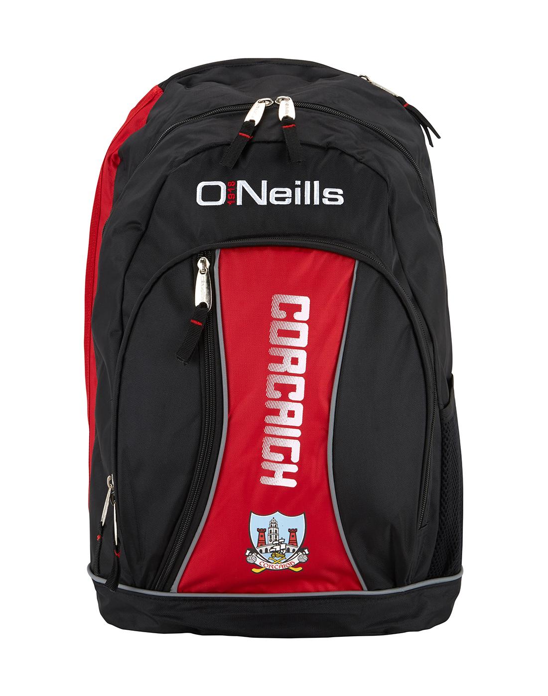 7468ea2c246376 O'Neills Cork GAA Backpack   Life Style Sports