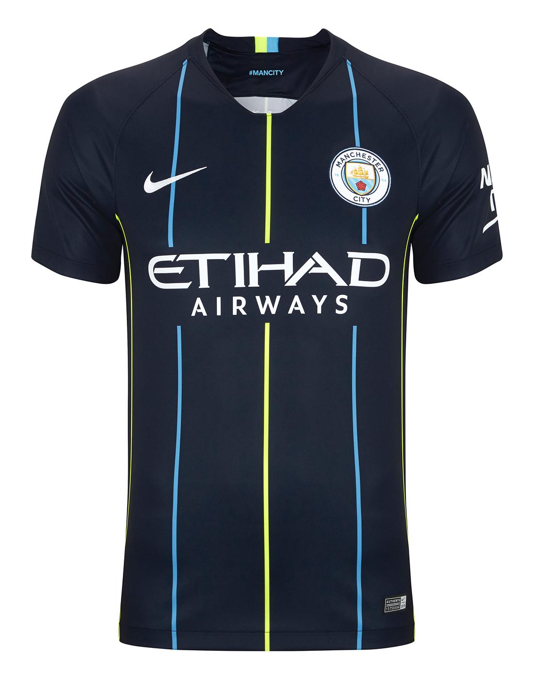 sports shoes bd4b2 a4f37 Man City 2018/19 Away Shirt | Nike | Life Style Sports