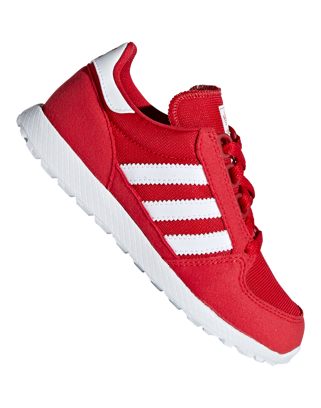 Young Kid's Red adidas Forest Grove