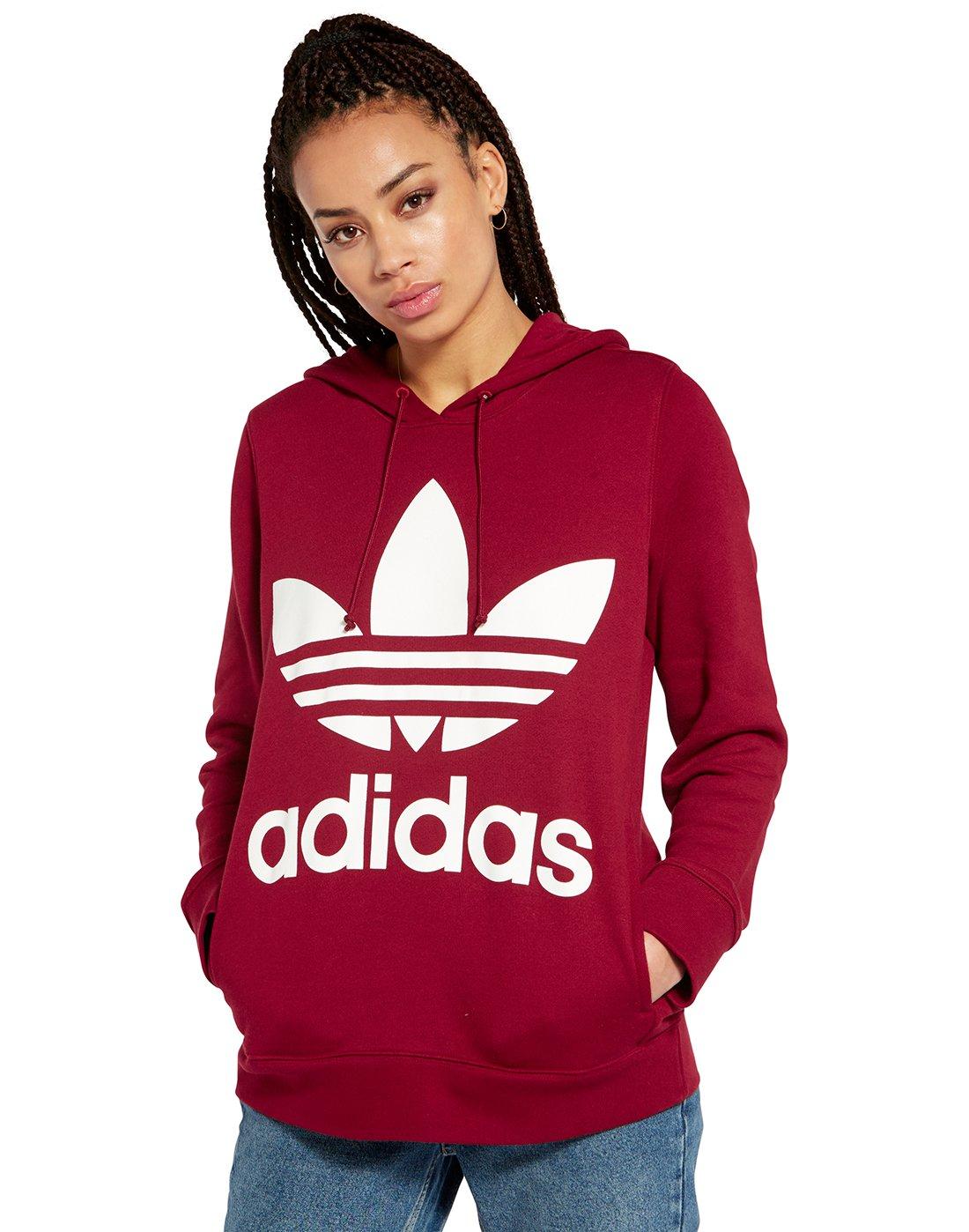 ddf65a567411 adidas Originals. Womens Trefoil Hoodie. Womens Trefoil Hoodie ...