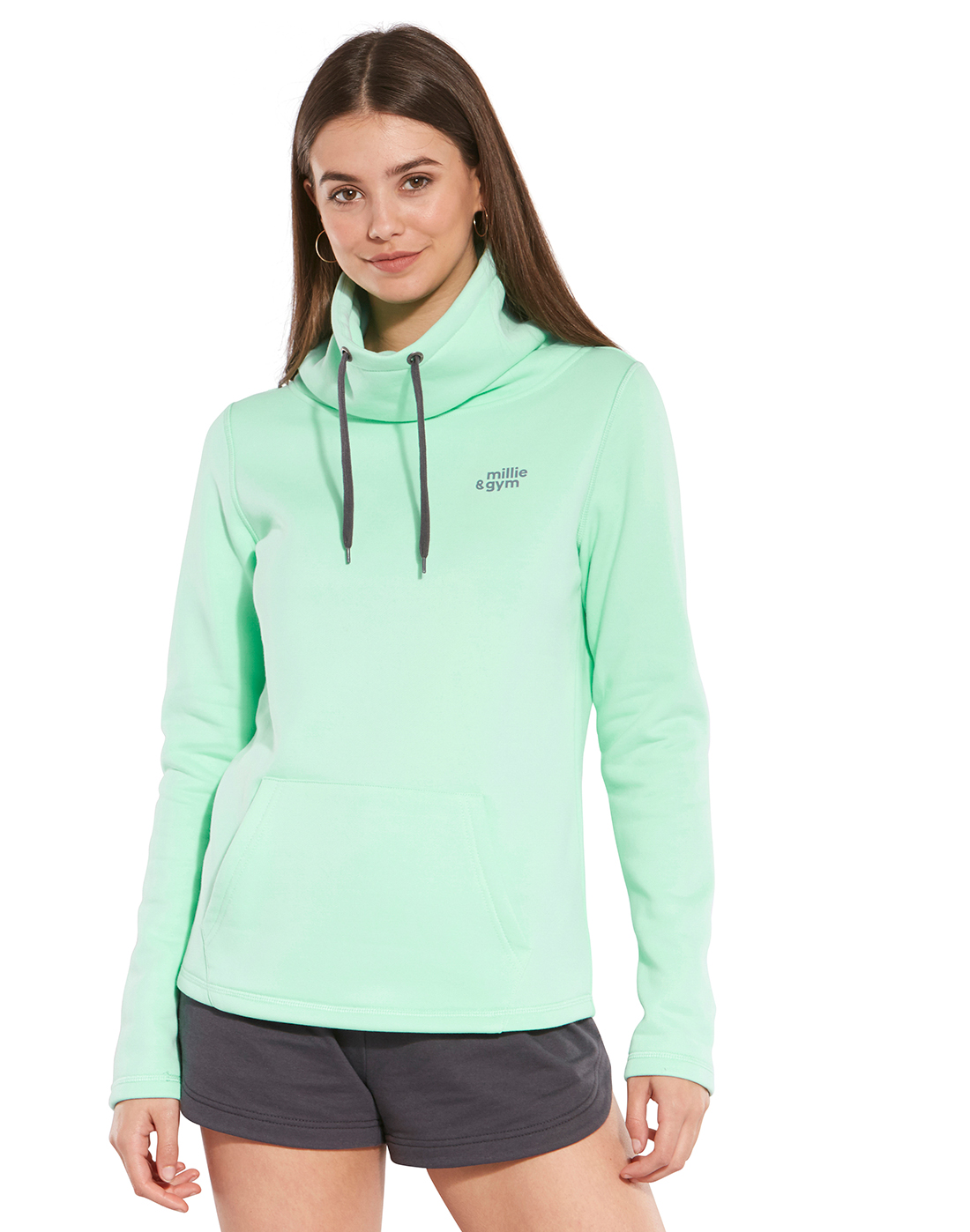 5e720fdd2 Mint Green Millie & Gym Hoodie | Life Style Sports