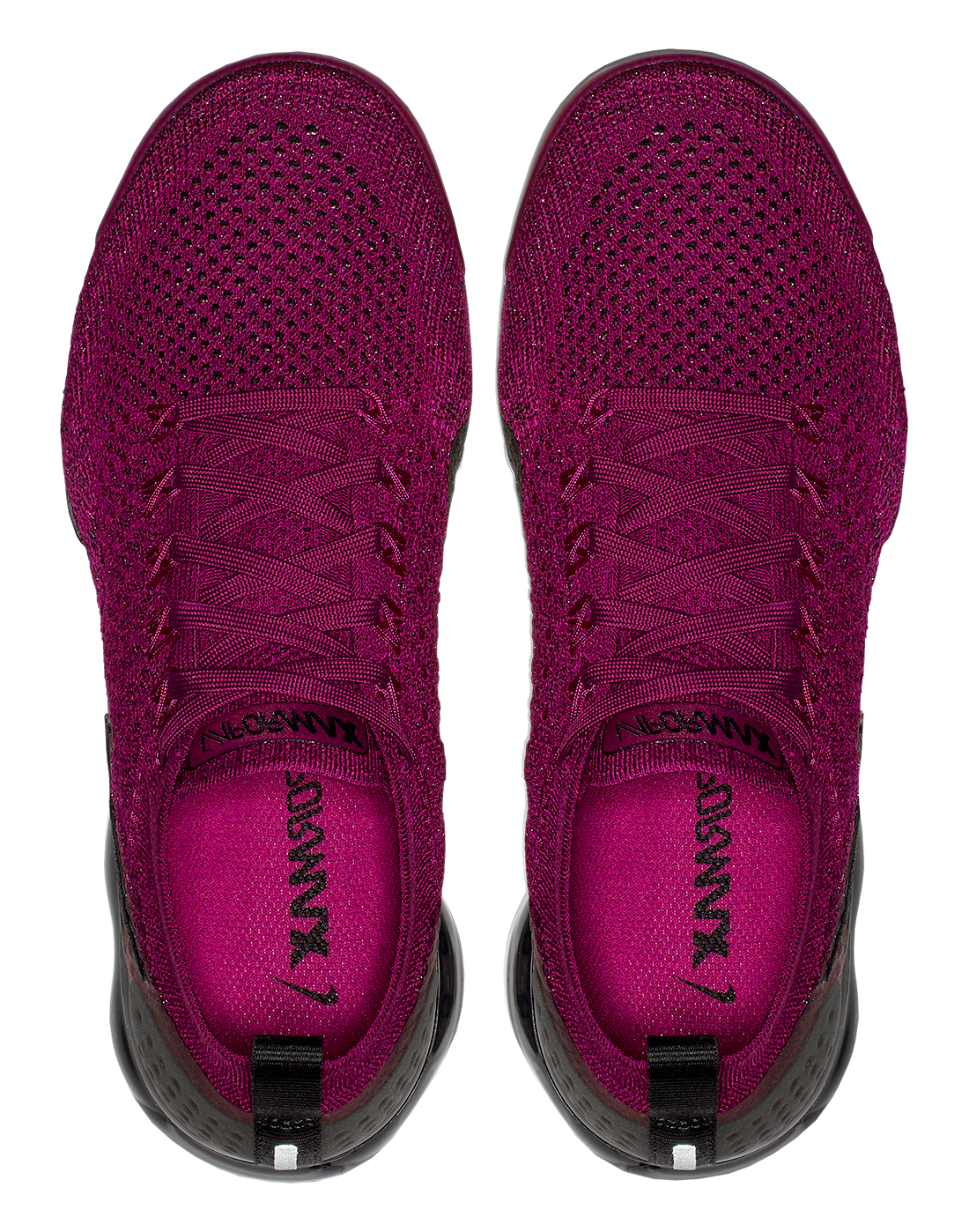 Women's Burgundy Nike Vapormax Flyknit