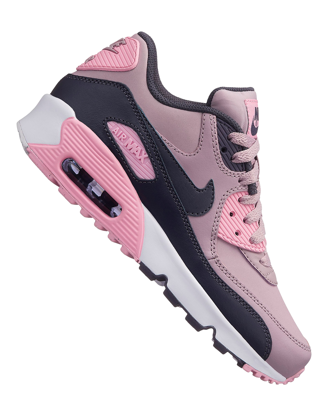Older Girls Air Max 90 Leather ... ee3e99d25